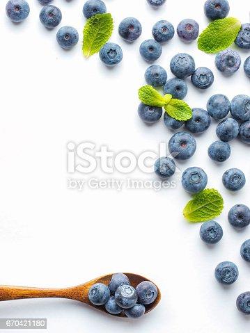 670420880istockphoto Blueberries isolated on white background 670421180