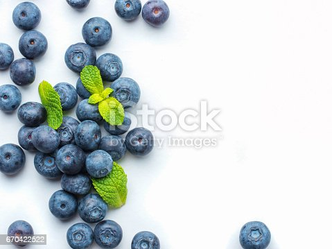 670420880istockphoto Blueberries isolated on white background 670422522