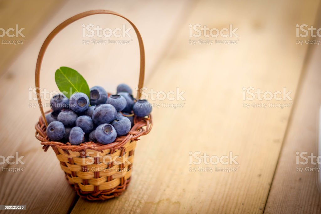 Blueberries foto stock royalty-free