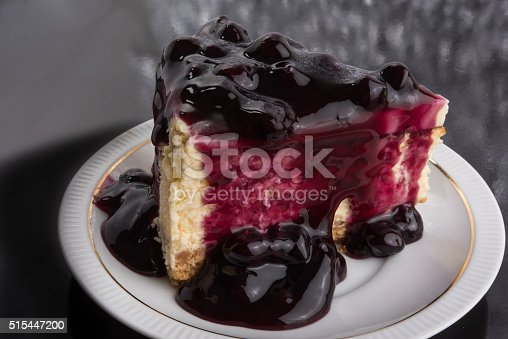515447912 istock photo Blueberry Cheesecake 515447200