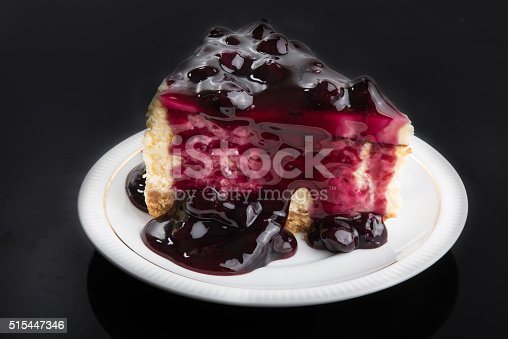 515447912 istock photo Blueberry Cheesecake 515447346