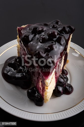 515447912 istock photo Blueberry Cheesecake 515447530