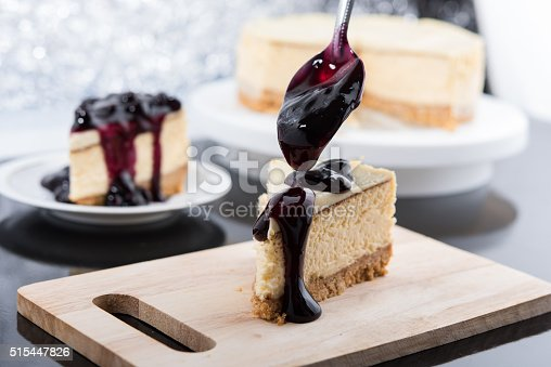 515447912 istock photo Blueberry Cheesecake 515447826