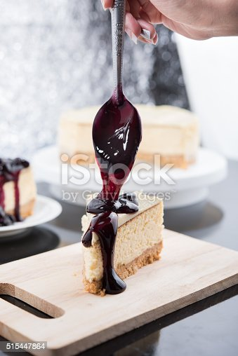 515447912 istock photo Blueberry Cheesecake 515447864