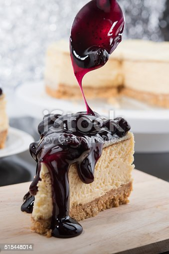 515447912 istock photo Blueberry Cheesecake 515448014