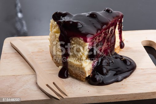 515447912 istock photo Blueberry Cheesecake 515448202