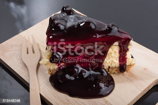 515447912 istock photo Blueberry Cheesecake 515448248