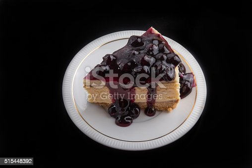 515447912 istock photo Blueberry Cheesecake 515448392