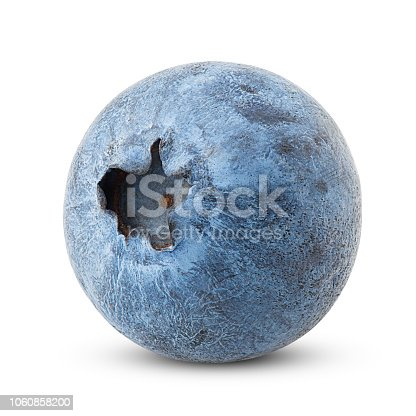 853493518 istock photo blueberry, clipping path, isolated on white background, full depth of field, high quality 1060858200