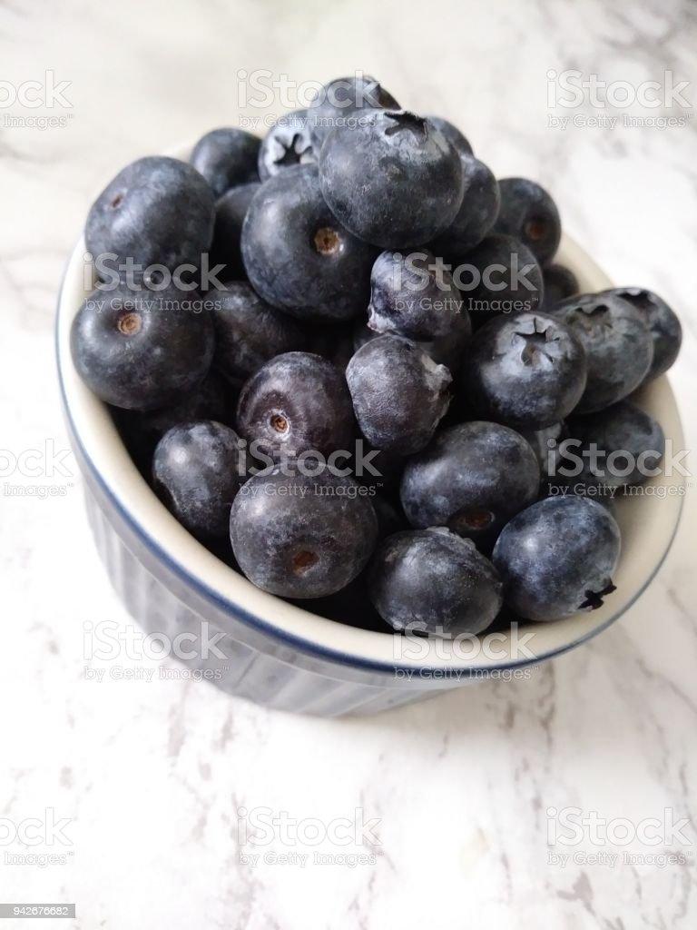 Blueberry Heaven stock photo