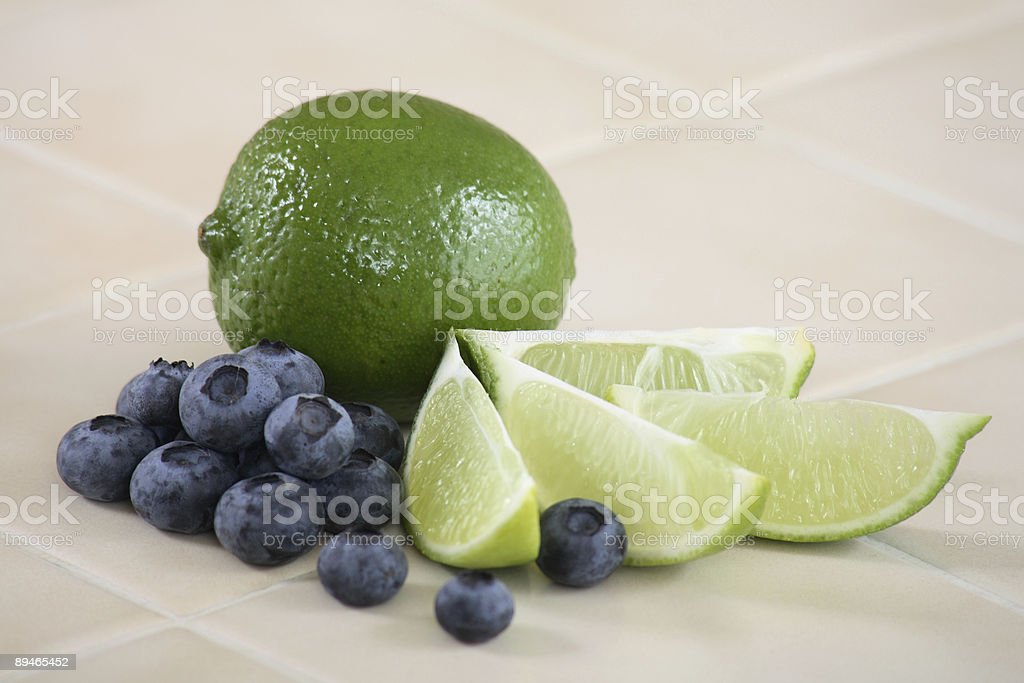 Blueberry Lime 1 royalty-free stock photo