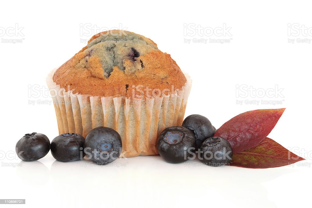 Blueberry Muffin royalty-free stock photo