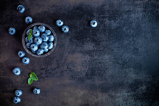 blueberry - blueberry stock photos and pictures