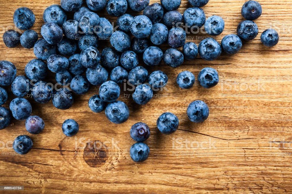 Blueberry zbiór zdjęć royalty-free