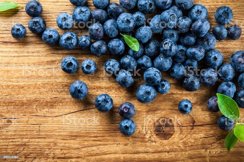 Blueberry royalty free stockfoto
