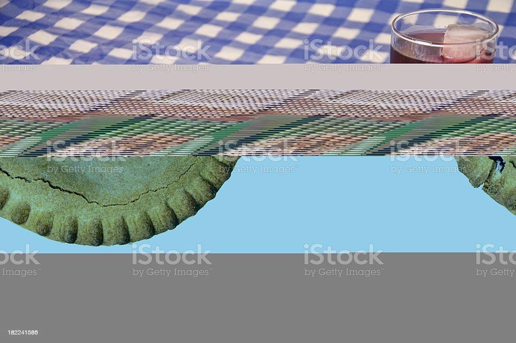 Pastel de arándano - foto de stock
