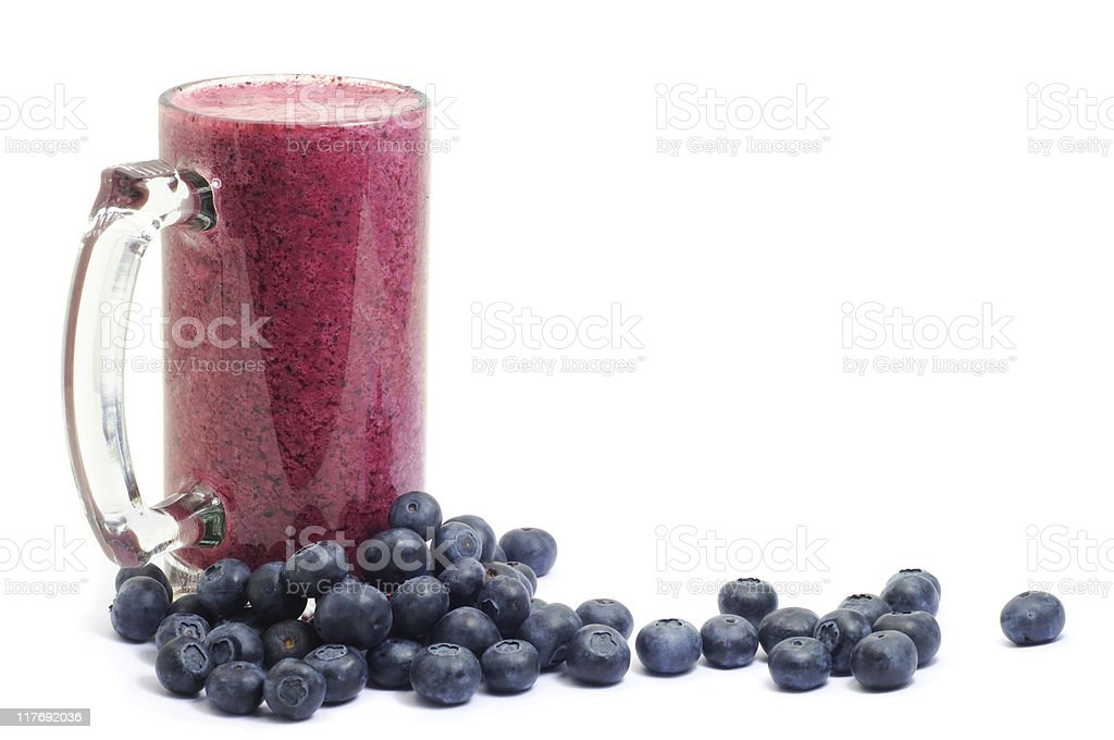 Blueberry Smoothie royalty-free stock photo