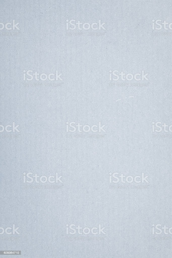 Blue-gray textured paper with faint pinstripe for background stock photo