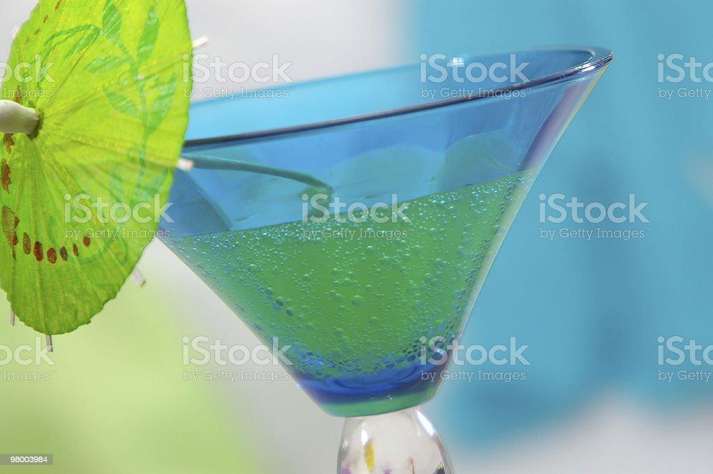 Bluegreen Horizontal royalty free stockfoto