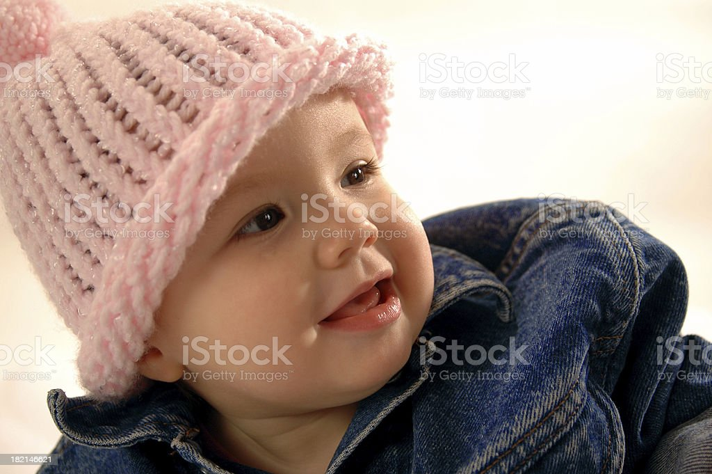 BlueJean Baby royalty-free stock photo