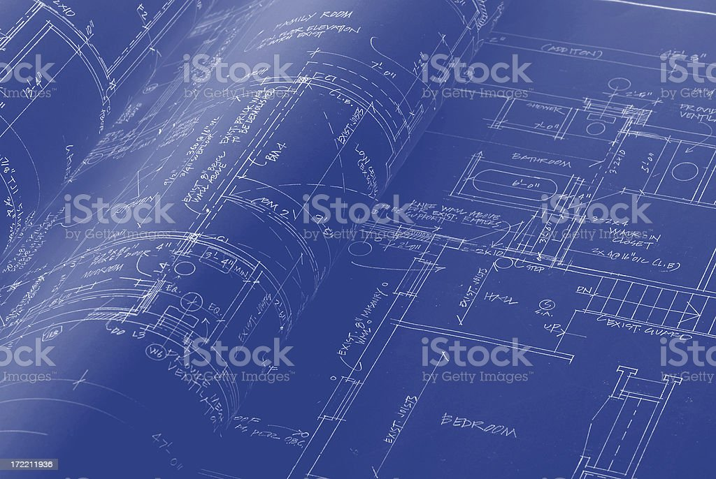 blueprint b11 royalty-free stock photo