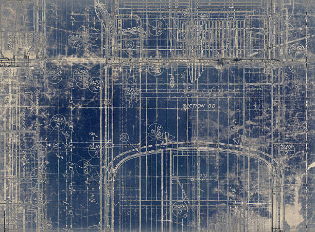 Royalty Free Vintage Blueprint Pictures, Images and Stock Photos ...