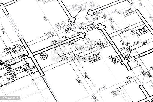 479023658 istock photo blueprint floor plans 479023650