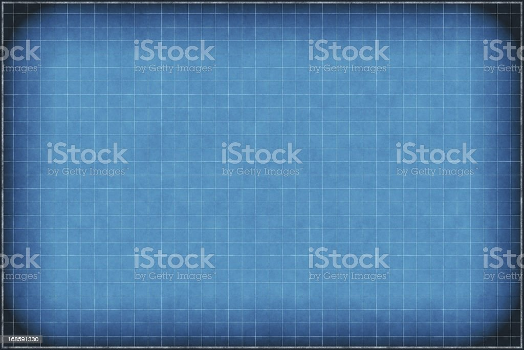 blueprint grid paper royalty-free stock photo