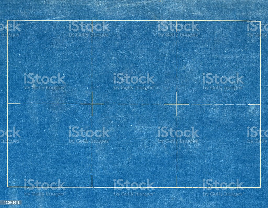 blueprint layout stock photo