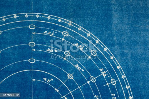 istock blueprint macro 157586212