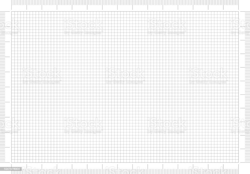 Technische Zeichnung Papier – Foto