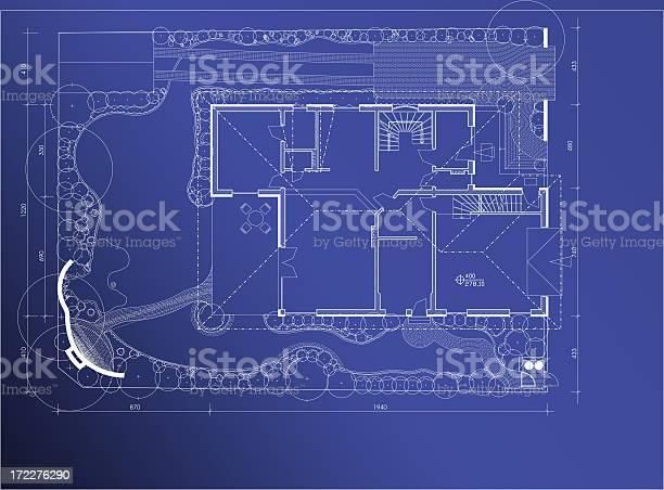 Photo of blueprint