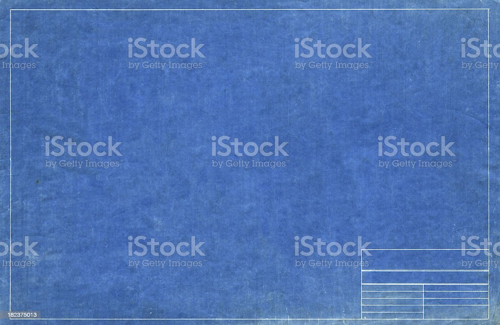 blueprint stock photo