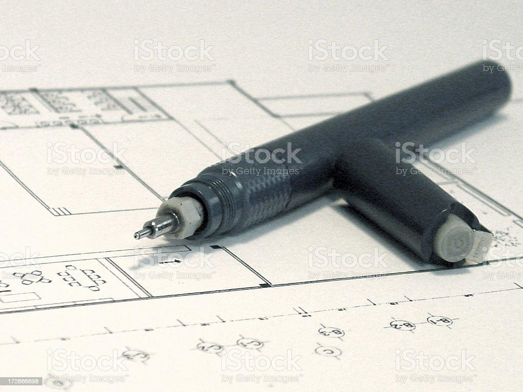 blueprint2 royalty-free stock photo