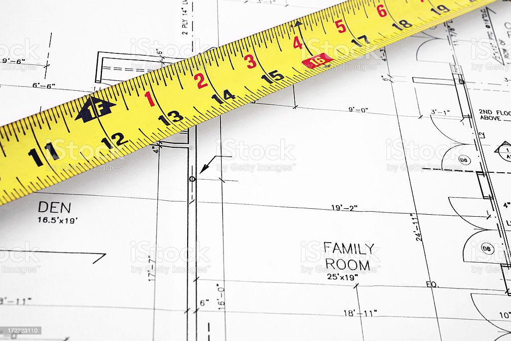 Blueprints -02 royalty-free stock photo