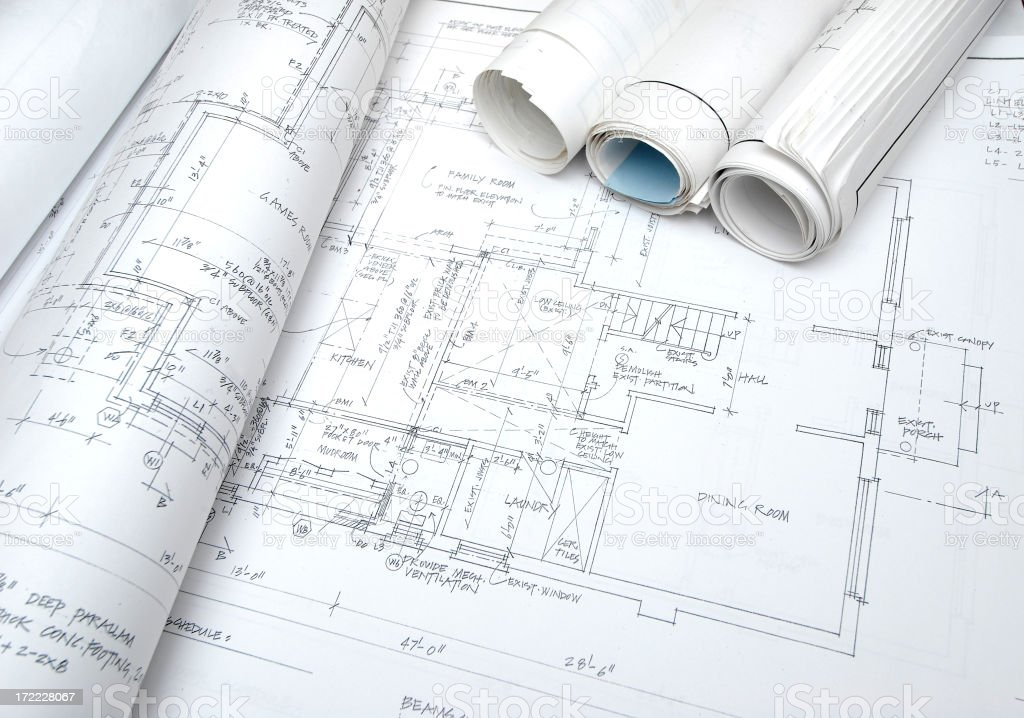 blueprints b13 royalty-free stock photo