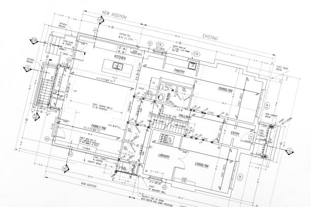 blueprints - deign stock pictures, royalty-free photos & images