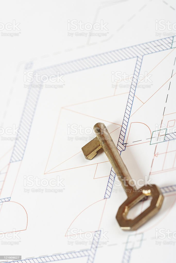 Blueprints series royalty-free stock photo