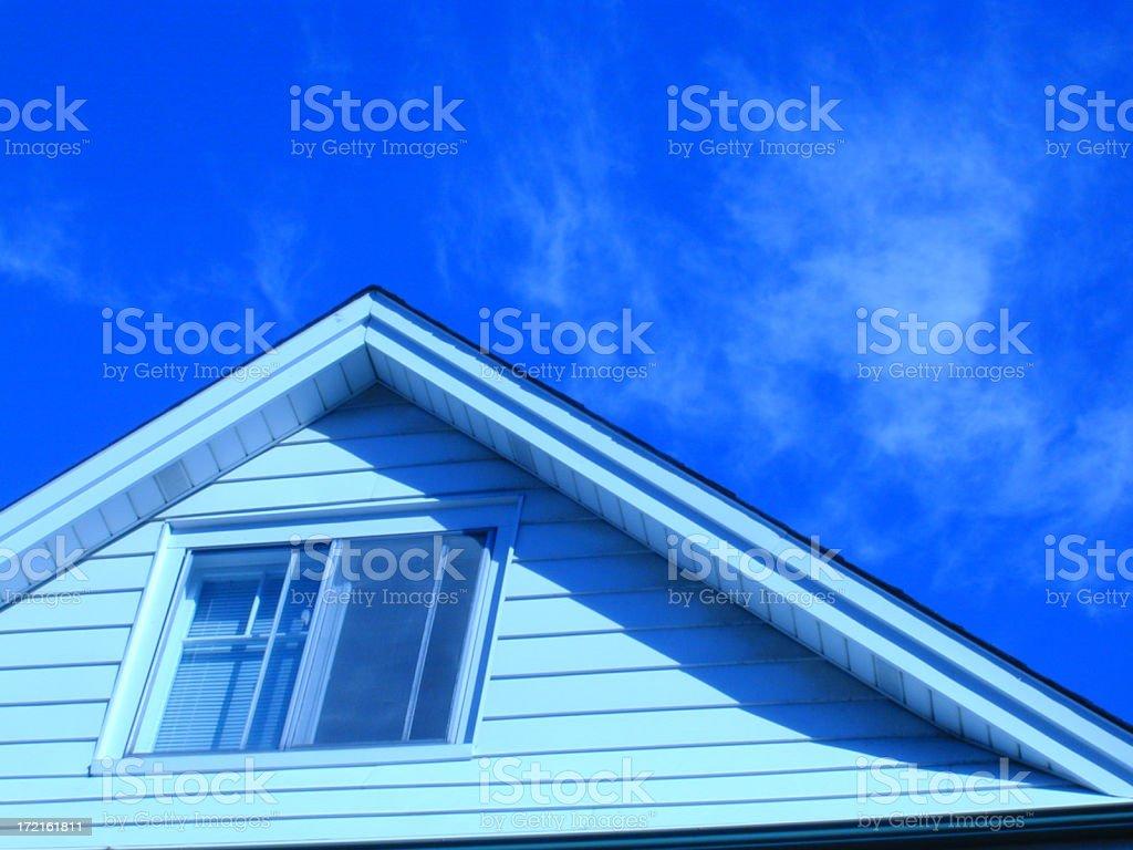 BlueRoof royalty-free stock photo