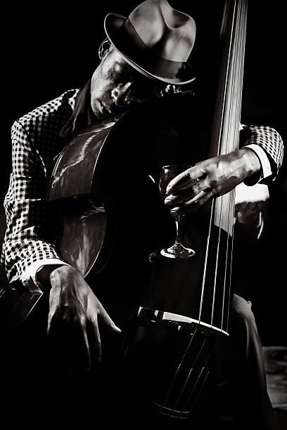 blues and jazz player - caz stok fotoğraflar ve resimler