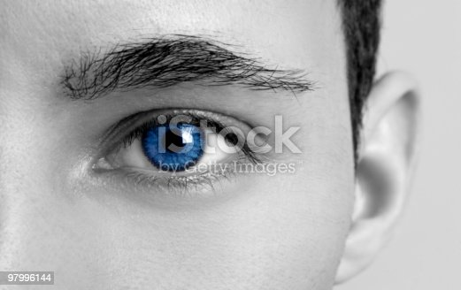 Blues Eyes Stock Photo & More Pictures of Adult