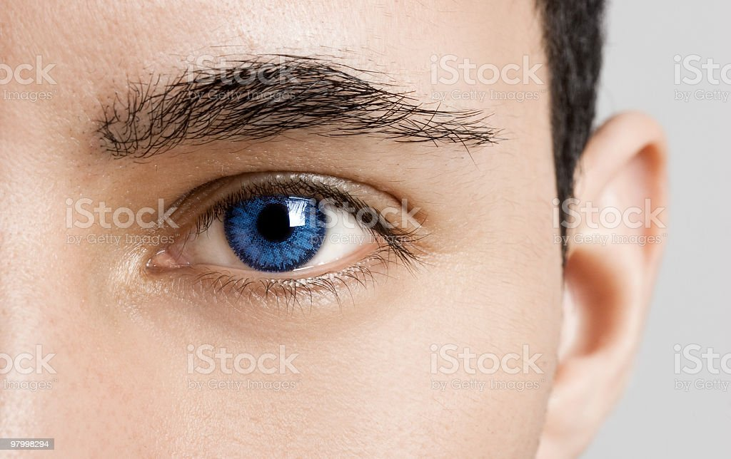 Blues Eyes royalty free stockfoto