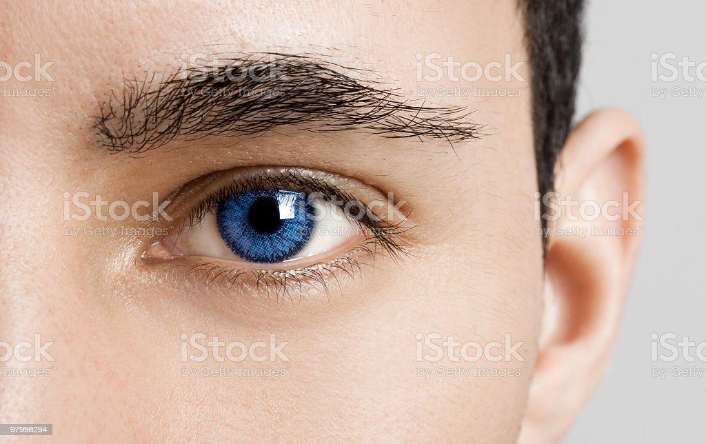 Blaue Augen – Foto