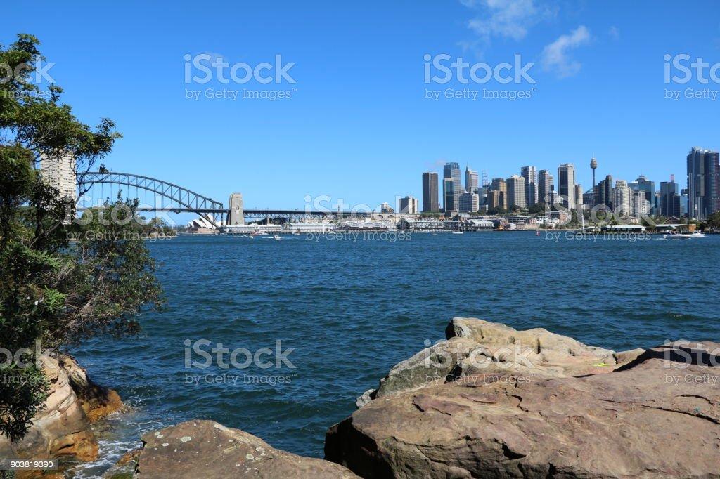 Blues Point Reserve Sydney, New South Wales Australia stock photo
