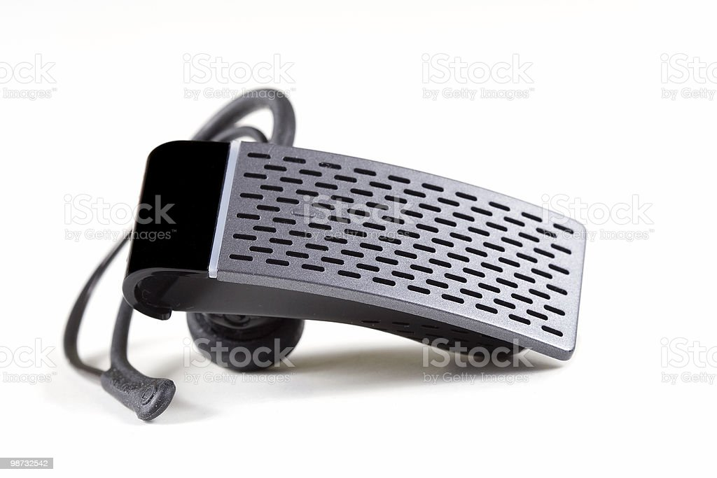 Bluetooth Headset 1 stock photo