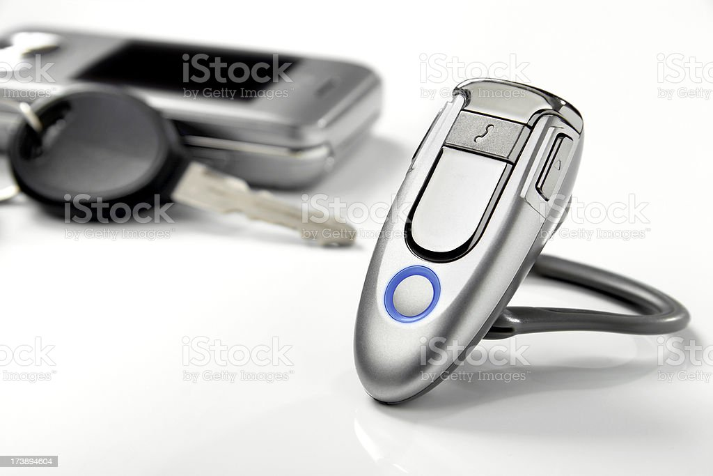 Bluetooth Headset royalty-free stock photo