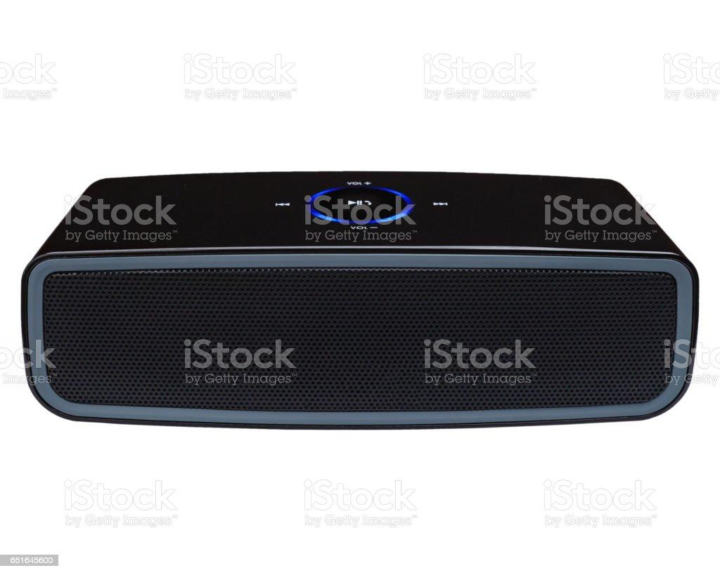 Bluetooth speaker stock photo