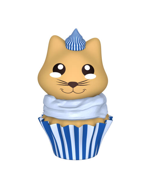Bluewhite cupcake with kitten in kawaii style picture id1139152318?b=1&k=6&m=1139152318&s=612x612&w=0&h=cvgjcpcjowbd6arg7ky mgiv43gi6pndfts mjni63e=