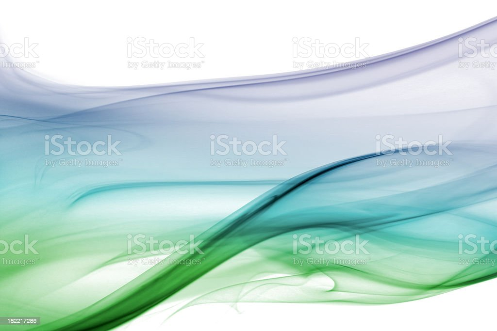 Bluey green floaty background royalty-free stock photo