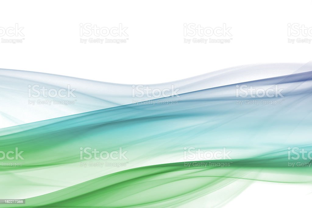 Bluey green rolling hills royalty-free stock photo